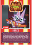 Collector card magnificent moshi circus bruce