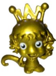 Tamara Tesla figure gold