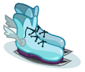 Winged Ice Skates
