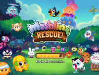 Moshling Rescue loading screen