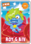 Collector card s7 roy g biv