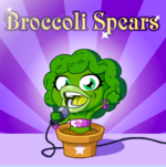 Broccoli Spears Poster