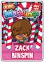 Collector card s4 zack binspin