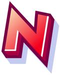 WallScrawl Alphabet - N