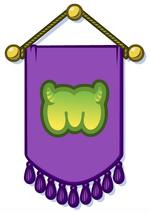 Purple Wall Hanging