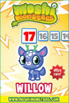 Countdown card s9 willow