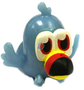 Tiki figure voodoo blue