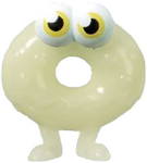 Oddie figure ghost white