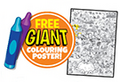 Giant colouring poster