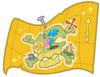Golden Treasure Map