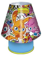 Monsters and Moshlings Bedside Lamp
