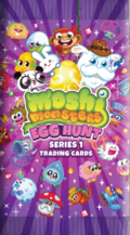 Moshi Monsters Egg Hunt Series One Trading Cards
