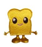 Toasty figure gold