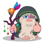 Elder Furi winking thumbs up
