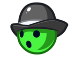 Green Bowler Ball