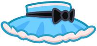 Poppet Moshette Minidress Blue
