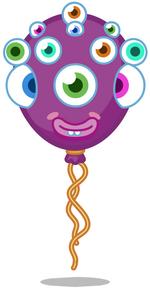 Roary's Birthday Balloon