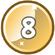 Level 8 icon