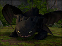 Toothless the Avatar