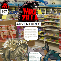 The Boy Who Cried Gamera returns so that he can ask Deathrock10 if he can join the Rulers of Wiki. This issue was controversial among fans as the adverts promised 'the long awaited return of The Boy'. Most fans expected this to be The Boy Who Cried Godzilla and were very disappointed when his counterpart showed up.
