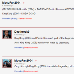 Mosu learns the truth about King Kong 2005