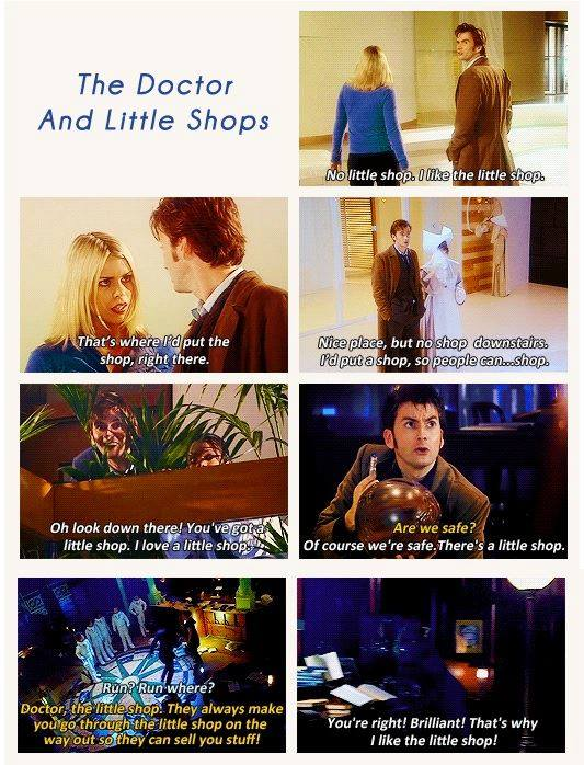 The doctor and little shops
