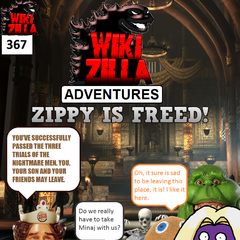 Having completed the three trials, Deathrock9 and his group returns to the King's throne room. Zippy is returned to him and they are allowed to leave.