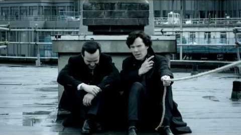 Sherlock 3x01 Sheriarty scene