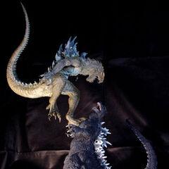 T'sFacto Godzilla vs. Zilla. Circa 2014-2015.