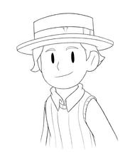 Floyd boater hat