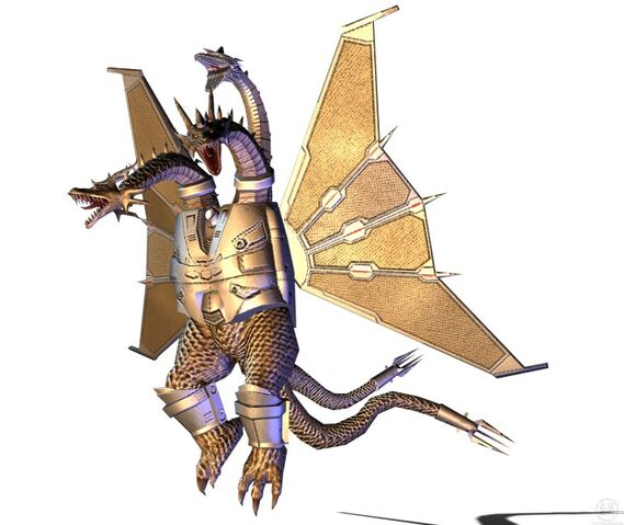 File:711px-Godzilla Unleashed - Monster - Mecha King Ghidorah 1.jpg