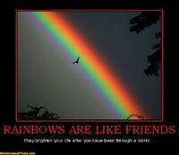 http://www.motivationaltwist.com/rainbows-are-li-rainbow-friends-brighten-after-storm-motivational-2081