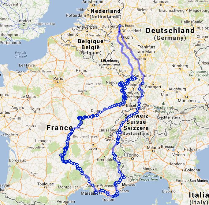 reisebericht frankreich  motorrad wiki fandom