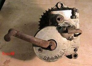 Sarolea 31R Getriebe