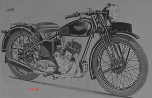 Sarolea 47 AS 350ccm 1947 zeich