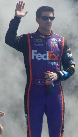 File:Denny Hamlin at Daytona.jpeg
