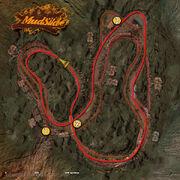 Mudslide track