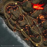 Wildfire track