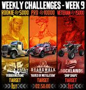 Weekly challenges msa