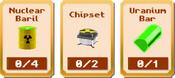 Uranium Conquest - Stage 3 Items