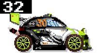 Hybrid Stunt Car