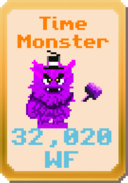 Time Monster (Gold Card)