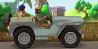 Chingum's Police Jeep