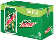 Mountain Dew 36 pack
