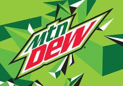 4x2.797 Mtn Dew logo