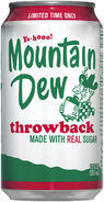 Mnt dew throw back