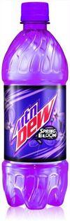 Fake Spring Bloom Bottle Design