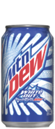 Mtn Dew White Out Can