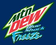 Blue Shock Freeze Logo