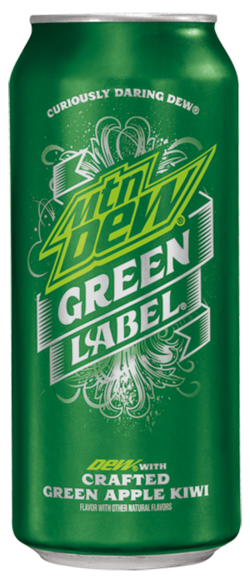 Mountain Dew Green Label | Mountain Dew Wiki | Fandom ...